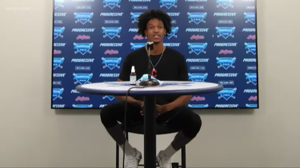 Cleveland Indians' Triston McKenzie reveals his Monday motivation and take on Zoom interviews: 'Beyond the Dugout' interview