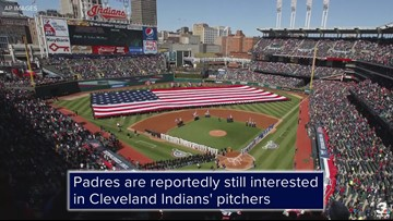 Report: San Diego Padres still interested in Cleveland Indians' pitchers, trade unlikely before Opening Day