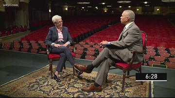 7 Minutes with Russ Mitchell: Gina Vernaci, President and CEO of Playhouse Square