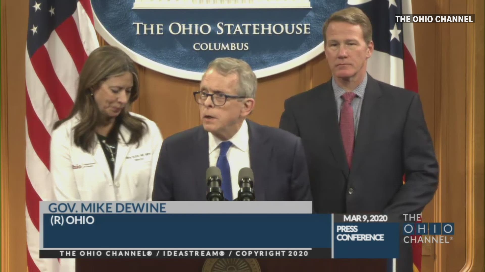 Gov Mike Dewine 3 Confirmed Cases Of Coronavirus In Ohio All In Cuyahoga County Wkyc Com