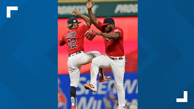 Cleveland Indians beat Philadelphia Phillies 5-2, remain tied for 2nd in AL wild card