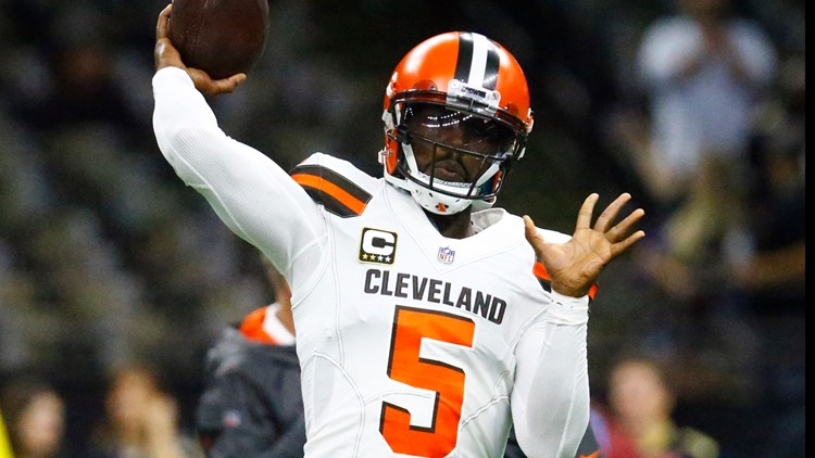 cb4b8de7 Report: Former Cleveland Browns QB Tyrod Taylor signs with Los ...