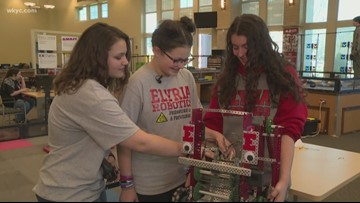 Girls in STEM | Elyria Robotics team to compete at World Championship