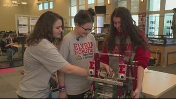 Girls in STEM: Elyria Robotics team going to worlds