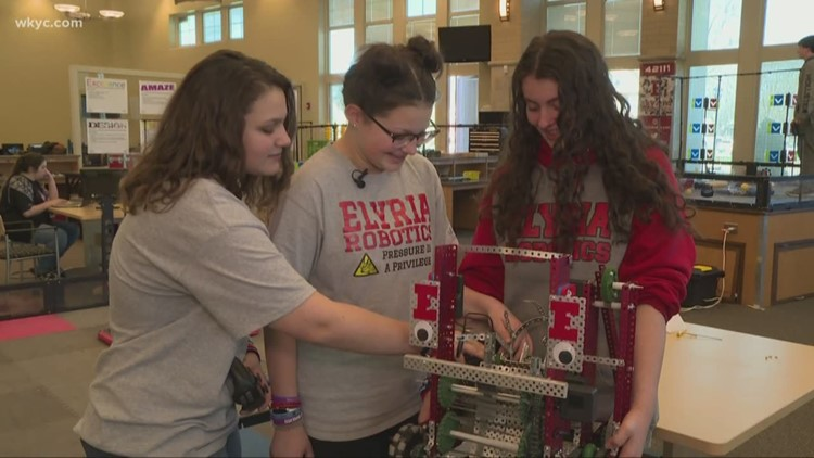 Girls in STEM | Elyria Robotics team to compete at World Championship