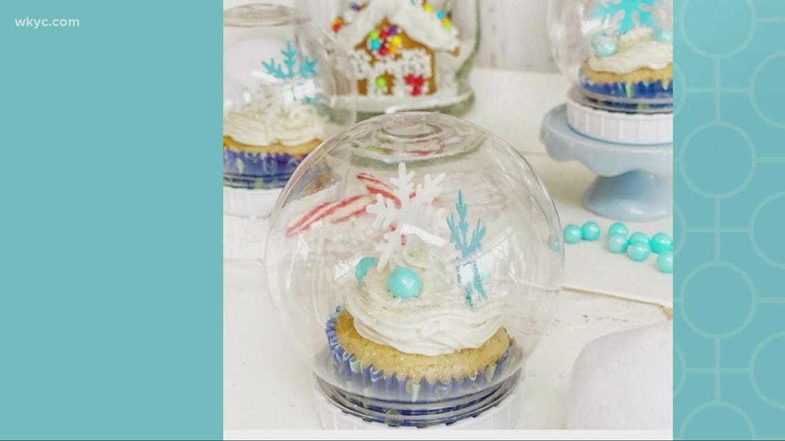 Recipe: Snow globe cupcakes
