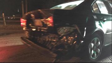 Hambden firefighter's car struck by suspected drunk driver