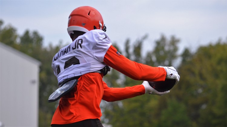 Odell Beckham Jr. Cleveland Browns training camp August 12, 2019