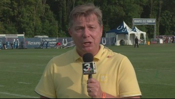 JIMMY'S TAKE   Day 2 of Cleveland Browns-Indianapolis Colts practice featured fighting as well as football