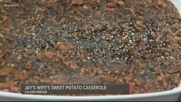 Jay Crawford's wife Tracy shares the recipe for her famous sweet potato casserole