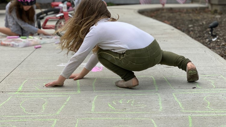 Mom Squad: Get moving with Hopscotch meets Twister