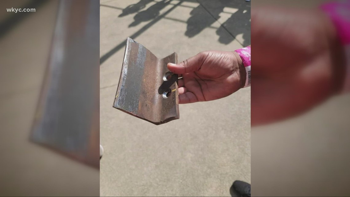 Cedar Point Top Thrill Dragster update: See an exclusive photo of the bracket that fell off the ride