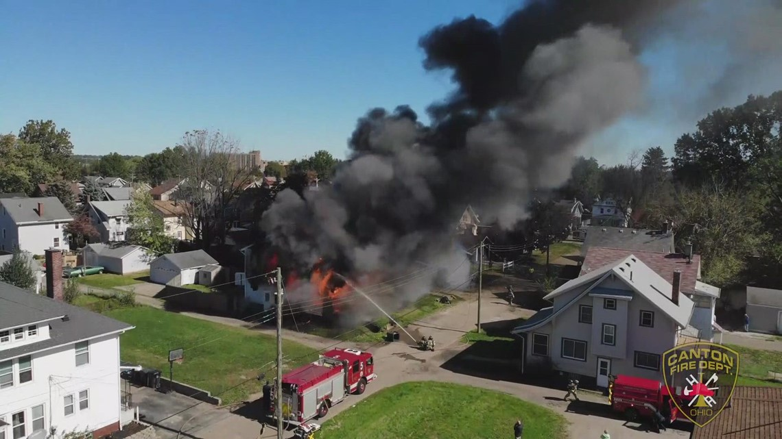 Canton structure fire takes the life of one female