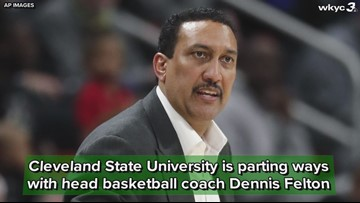 Cleveland State University to part ways with head basketball coach Dennis Felton