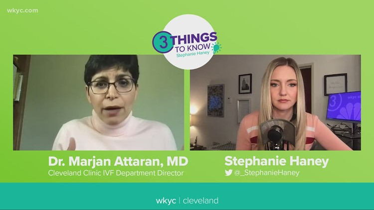 What it's like to freeze your eggs: 3 Things to Know with Stephanie Haney podcast