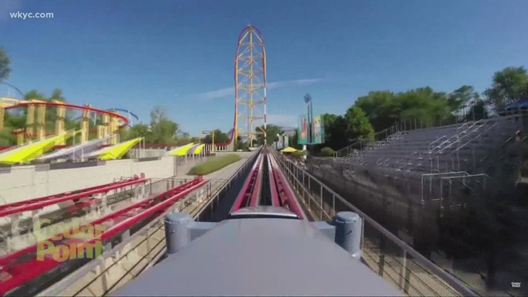 VIDEO | Bodycam footage shows moments after 'small metal object' fell on guest near Cedar Point's Top Thrill Dragster