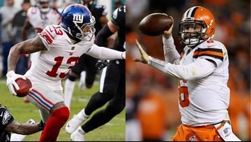 Watch Browns Baker Mayfield Odell Beckham Jr Featured In