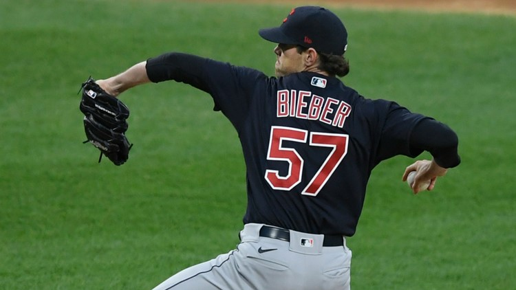 Shane Bieber excels, Cleveland Indians outlast Lucas Giolito, Chicago White Sox 2-0 in 10