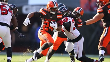 Watch: Top five Nick Chubb plays from 2018 season with Browns