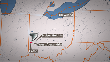 UPDATE | National Weather Service now confirms 3 tornadoes in Ohio