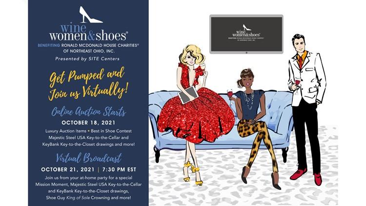 Wine Women & Shoes event benefitting Ronald McDonald House Charities® of Northeast Ohio
