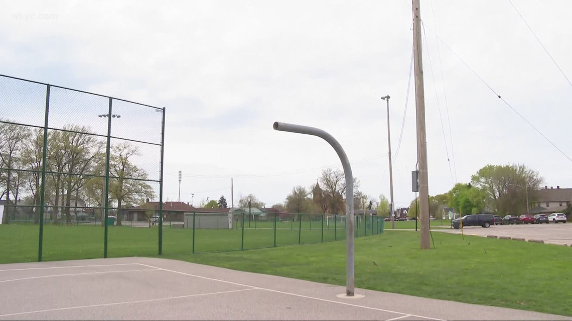 'Basketball is being associated falsely with violence': Lakewood residents demand transparency after hoops taken down at Madison Park