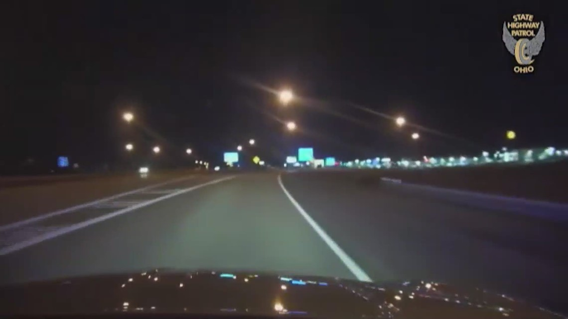 Dashcam video: Medina resident flips car after he flees police in high speed chase