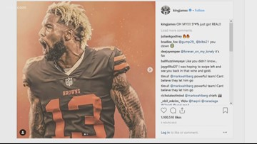 LeBron James has big reaction to Odell Beckham Jr. joining the Cleveland Browns
