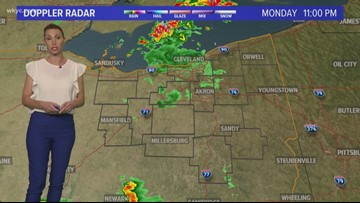 Strong storms cause damage in Northeast Ohio