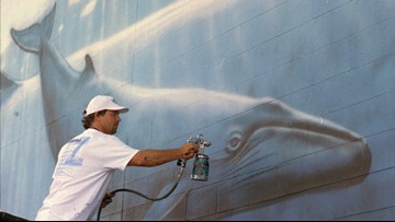 Artist behind iconic Cleveland whale mural to restore artwork on Cleveland Public Power plant