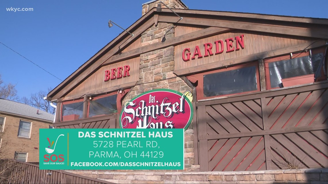 Das Schnitzel House in Parma: 'Save Our Sauce' campaign