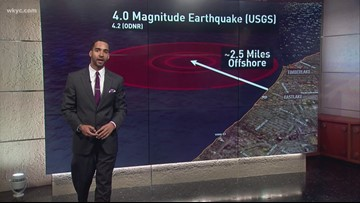 Explaining the science behind earthquakes with Meteorologist Michael Estime