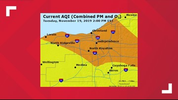 Air Quality Advisory issued for several Northeast Ohio counties