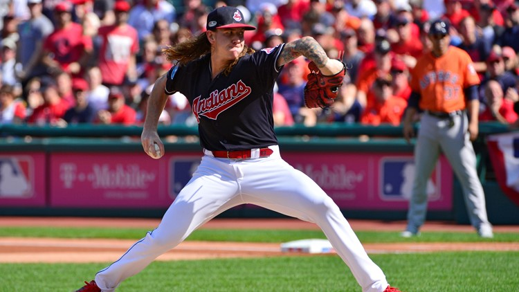 Cleveland Indians RHP Mike Clevinger
