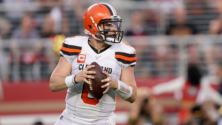 Baker Mayfield Cleveland Browns quarterback October 7, 2019
