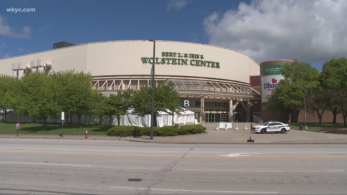 Wolstein Center mass vaccination site to close after 12 weeks
