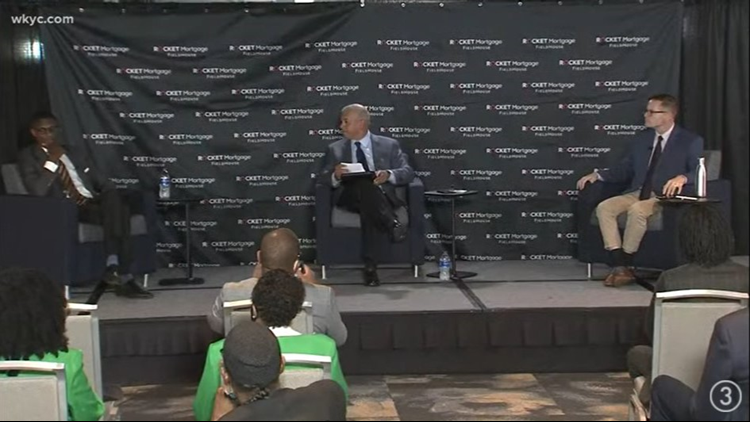 3News' Russ Mitchell moderates virtual Cleveland mayoral town hall with Justin Bibb and Kevin Kelley