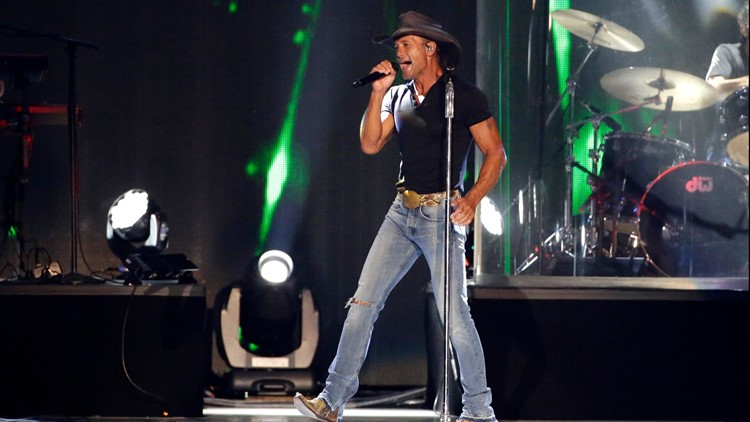 Tim McGraw to return to Canton for summer concert