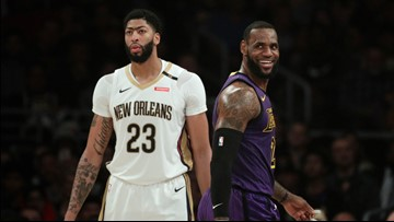 Ap Source La Lakers New Orleans Pelicans Agree On Anthony