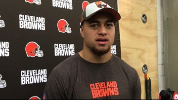 Cleveland Browns sign 3rd round pick Sione Takitaki, entire 2019 draft class now signed