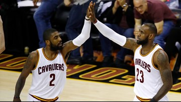 Report: Kyrie Irving 'genuinely' interested in reuniting with LeBron James
