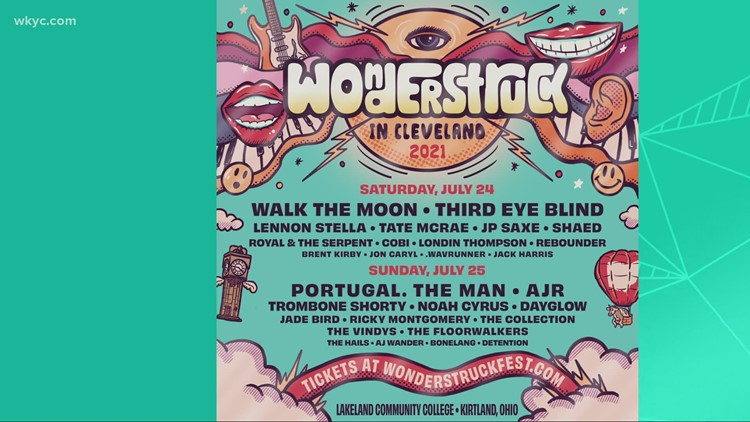 'Wonderstruck' Music Fest comes to Cleveland