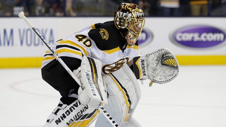 Tuukka Rask Boston Bruins-Columbus Blue Jackets Hockey 2
