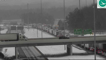 Traffic flowing again on I-80 following 50-vehicle crash near Youngstown