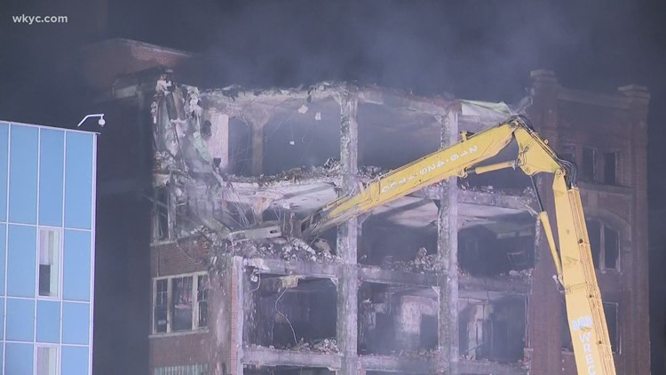 Memories from the 'Uncle Vic Building' after flames tear through Elyria structure