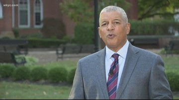Russ Mitchell live at Otterbein University with what to watch for in tonight's Democratic debate