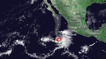 Tropical Storm Raymond forms in Pacific off western Mexico on Friday