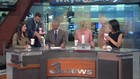 In honor of LeBron James, WKYC anchor team gets food drop from Swensons