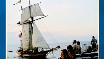 Sweepstakes:  Win a lunchtime cruise during the Tall Ships Festival
