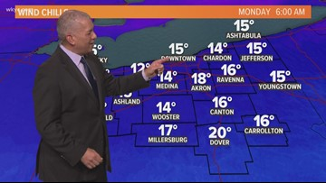 Russ Mitchell delivers the weather forecast for the first time in his career